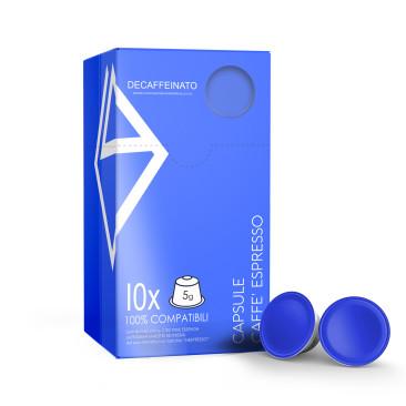 """10 Capsule nespresso-compatibili """"Decaffeinato"""""""